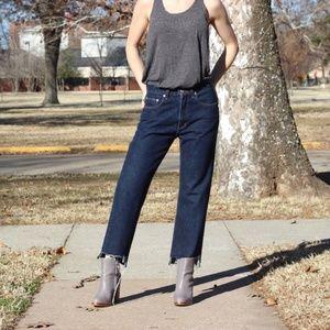Ralph Lauren distressed vintage jeans
